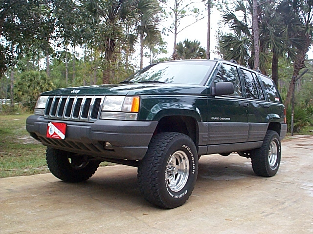 This Is My Modified 1996 Jeep Grand Cherokee Laredo 2wd 4.0. I Bought My  Jeep In September Of 1998 With A 50K Miles On It.